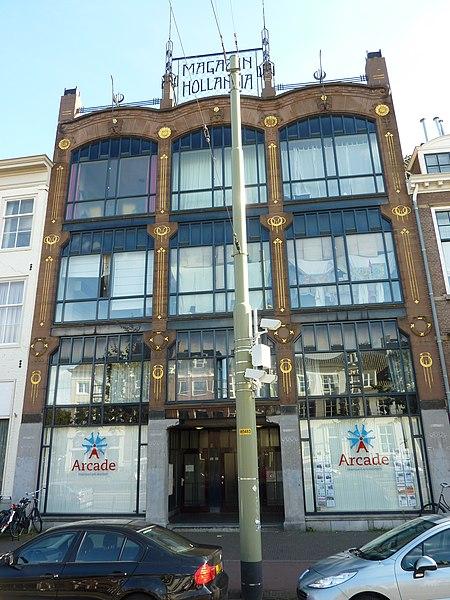 Sezession in Nederland: Holland Magazijn in Den Haag