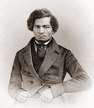 English: Portrait of Frederick Douglass as a y...