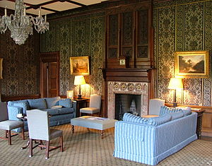 The Senior Common Room at Keble College, Oxfor...