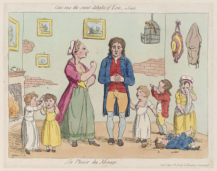 Fichier:Les plaisir du mènage by James Gillray.jpg