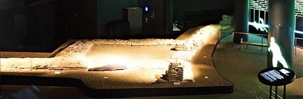 London's Roman Amphitheatre - Guildhall Art Gallery