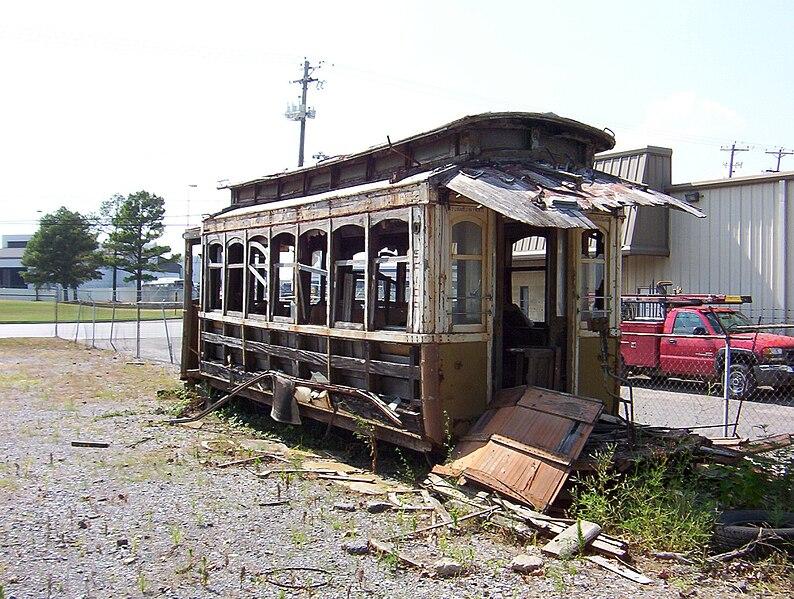 File:MATA trolley unrestored Memphis TN 5.jpg