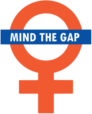 """Mind the Gap"" goes feminist."