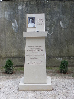 English: Camille Claudel's mémorial, in Montfa...