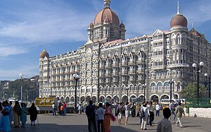 The Taj Mahal Hotel, built by the Tata family ...