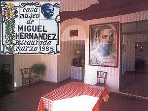 Català: Casa-museu de Miguel Hernández. Orihue...