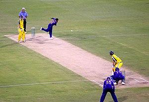 Sri Lankan bowler Muttiah Muralitharan, the hi...