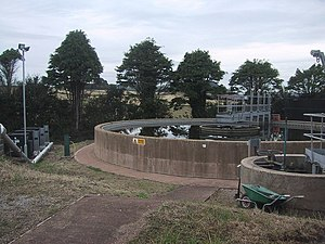 English: Otterton Water Treatment Plant