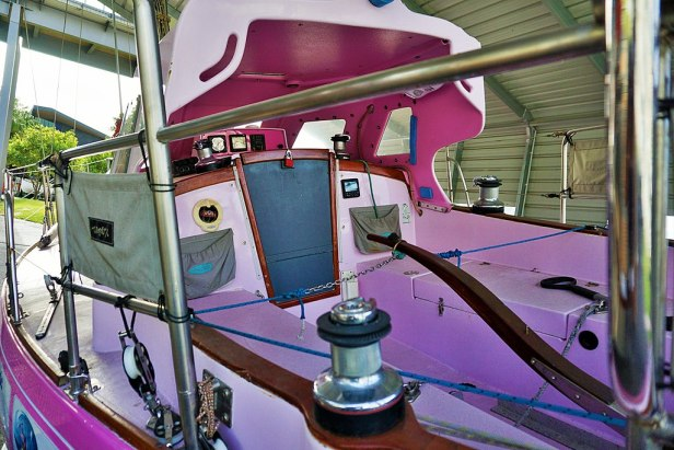 Queensland Maritime Museum - Joy of Museums - Ella's Pink Lady 2