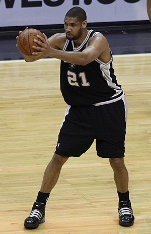 English: Tim Duncan, San Antonio Spurs, 2009