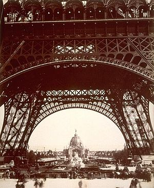 View of Exposition Universelle, 1889, through ...