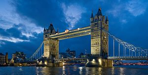 Tower Bridge as viewed from the North-East nea...