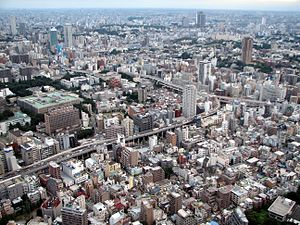 Densely populated metropolitan area (Western T...