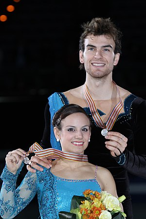 Meagan Duhamel and Eric Radford at the 2011 Fo...