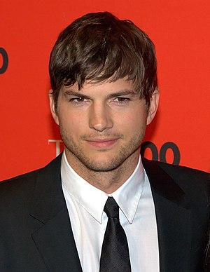 Ashton Kutcher at Time 100 Gala