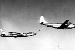 Boeing B-47A Stratojet 49-1902 refueled by Boe...