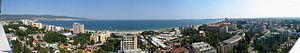 Bulgaria Sunny Beach Panorama, shot from Hotel...