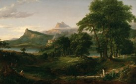 Thomas Cole 1836 The Arcadian or Pastoral State from The Course of Empire