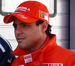 Felipe Massa at Autódromo Internacional do Alg...