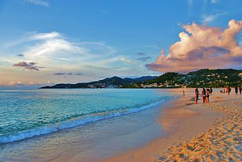 English: Grand Anse Beach, St. George's, Grena...