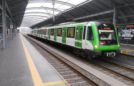 Beim Bau dieser Metro Linie 1 in Lima soll Odebrecht Bestechungsgelder in Höhe von sieben Millionen US-Dollar an Regierungsfunktionäre bezahlt haben