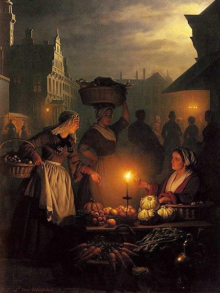 Bestand:Petrus van Schendel Market.jpg