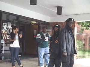 Alleged instance of voter intimidation in Phil...