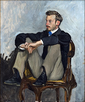 Renoir by Bazille