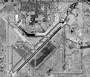 English: Roswell International Air Center, Ros...