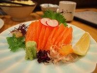 Salmon sashimi Yuichiro Haga