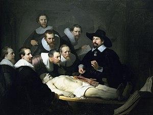 """Anatomy Lesson of Dr. Nicolaes Tulp&quot..."