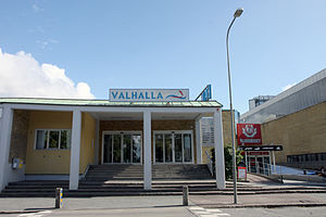 English: Valhallabadet, an indoor swimming fac...
