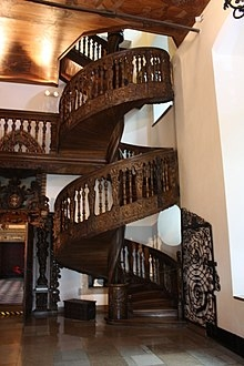 Loretto Chapel Wikipedia   Self Supporting Spiral Staircase   Staircase Design   London Uk   Stair Case   Santa Fe   Risers