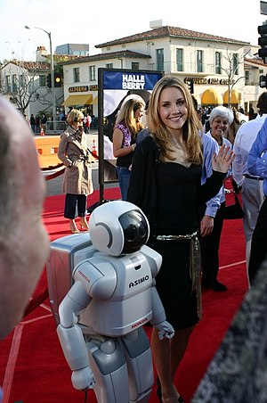 on the red carpet of robots the movie
