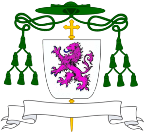 English: Coat of Arms of D. Miguel da Silva, B...
