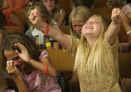 Sunday School Camp Worship
