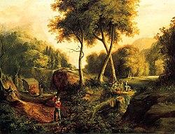 peinture romantique vikidia l
