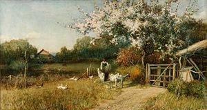 English: Springtime