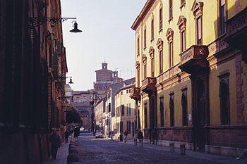 Corso Ercole I d'Este, Street in the Rennaissa...