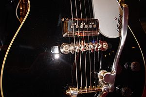 English: Gretsch Duo Jet G6128T DSV(with Bigsb...
