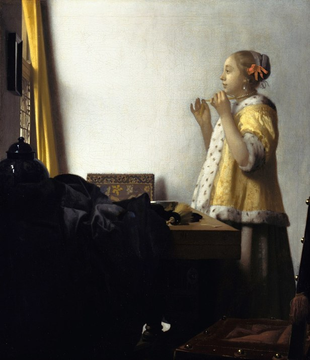 Jan Vermeer van Delft - Young Woman with a Pearl Necklace - Google Art Project