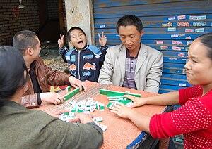Mahjong in China