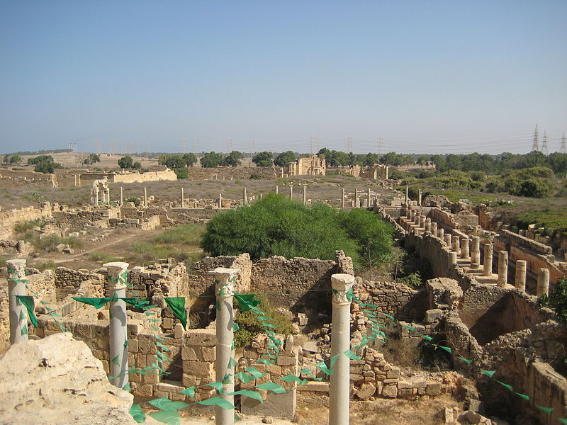 File:Leptis Magna view.JPG