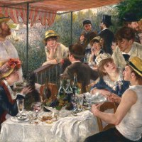 """Luncheon of the Boating Party"" by Pierre-Auguste Renoir"