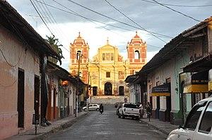 Street in León, Nicaragua
