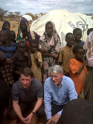 Talking to people affected by drought in the '...