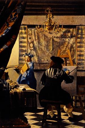The Artist's Studio - Jan Vermeer van Delft