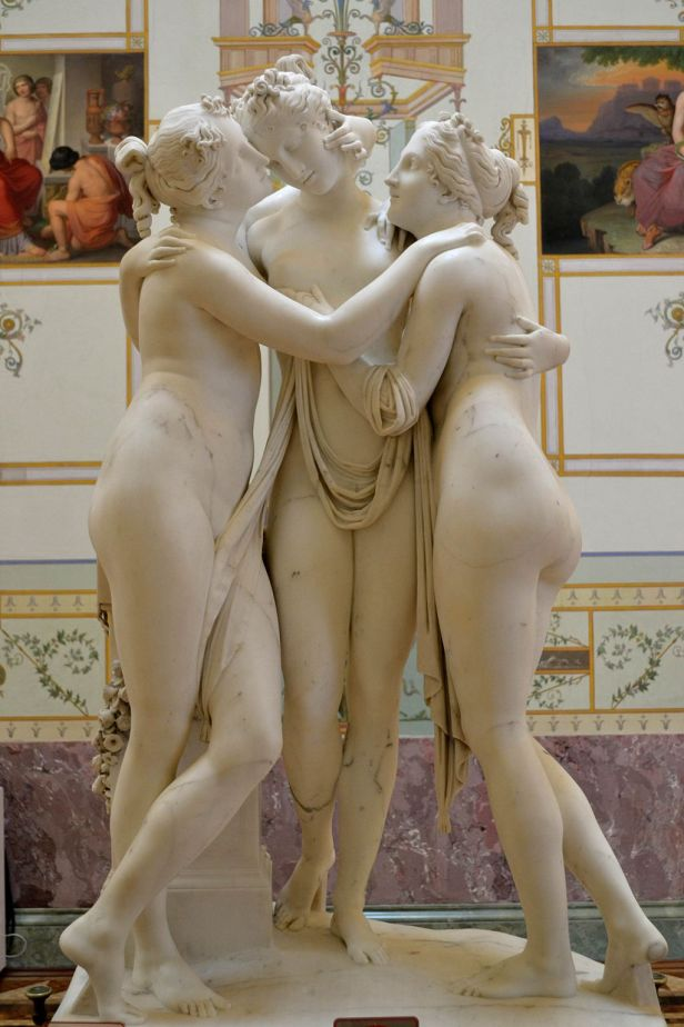 The Three Graces by Antonio Canova1