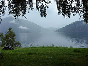 English: A Fjord in Norge