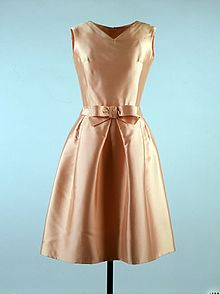 Dress   Wikipedia Apricot colored dress worn by Jacqueline Kennedy